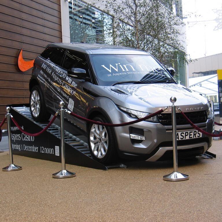 rampe auto pentru expozitii
